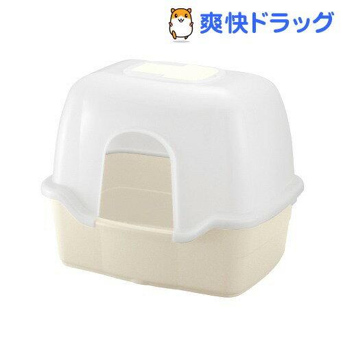 リッチェル コロル ネコトイレ F60フード付 ベージュ(1コ入)【コロル】