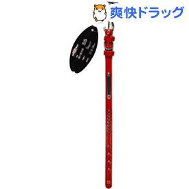 本革手縫い平首輪 MD5091(1コ入)【ドギーマン(Doggy Man)】