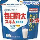 雪印メグミルク 毎日骨太MBPスキム ガゼット(200g*12袋セット)