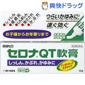 【第(2)類医薬品】セロナQT軟膏(セルフメディケーション税制対象)(14g)【セロナ】