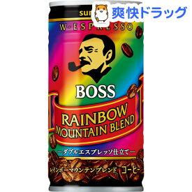 ボス レインボーマウンテンブレンド(185g*30本入)【ボス】[缶コーヒー]