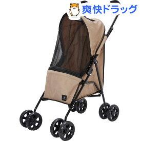 Porta ドッグコンパクトウォーカー ベージュ(1台)【Porta】