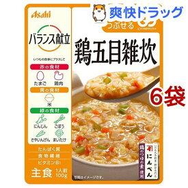 バランス献立 鶏五目雑炊(100g*6コセット)