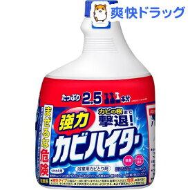 強力カビハイター お風呂用カビ取り剤 付け替え 特大(1000ml)【ハイター】