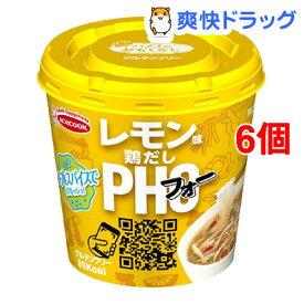 ハノイのおもてなし レモン味鶏だしフォー(6個セット)【エースコック】