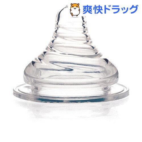 キッズミー PPSUダイアモンドボトル専用ニップル Lサイズ(2コ入)【kidsme】
