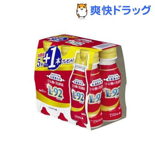 守る働く乳酸菌 5+1本キャンペーンパック(100mL*5+1本*5パック)【カルピス由来の乳酸菌科学】