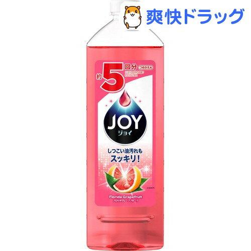 ジョイコンパクト 食器用洗剤 ピンクグレープフルーツの香り 特大(770mL)【ジョイ(Joy)】