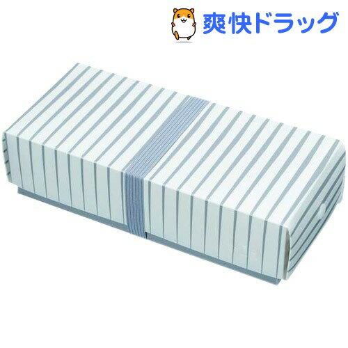 HO.H. フラットランチボックス ボーダー 003-R-B(1コ入)【HO.H.(エイチ・オー・エイチ)】[弁当箱 HOH HO.H HOH]