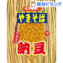 ペヤング ソースやきそばプラス納豆(18コ入)【ペヤング】【送料無料】