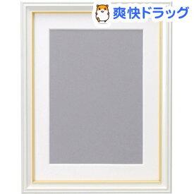 フジカラー 肖像額縁 キャビネ・2L パールホワイト(1コ入)