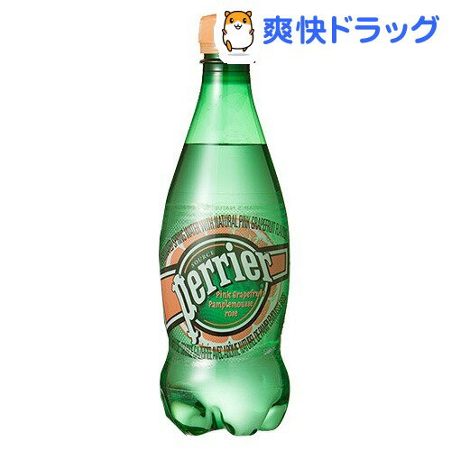 ペリエ ピンクグレープフルーツ ペットボトル (無果汁・炭酸水)(500mL*24本入)【ペリエ(Perrier)】[ペリエ 500ml 24本 ミネラルウォーター 水]