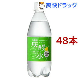 国産 天然水仕込みの炭酸水 グレープフルーツ(500ml*48本入)