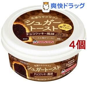 シュガートースト チョコクッキー風味(110g*4個セット)
