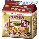 マルちゃん正麺 中華そば 和風醤油 5食パック(105g*5食入)【マルちゃん正麺】