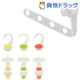 GAONA 詰め替えそのまま3色セット GA-FP014 フック付き(1セット)【GAONA】