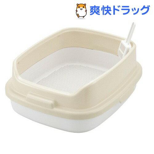 リッチェル コロル ネコトイレ 55H すのこ付 ベージュ(1コ入)【コロル】