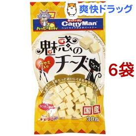 キャティーマン 魅惑のチーズ ササミ入り(30g*6コセット)【キャティーマン】