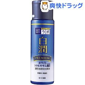 【訳あり】肌ラボ 白潤プレミアム 薬用浸透美白化粧水(170ml)【肌研(ハダラボ)】