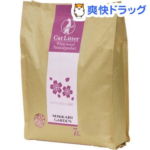 アドメイト サクラの香りの猫砂(7L)【アドメイト(ADD.MATE)】