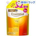 エッセンシャル しっとりツヤ髪 コンディショナー つめかえ用(1080mL)【kao1610T】【エッセンシャル(Essential)】