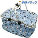 保冷バッグ 買い物かご キーピー バスケット フレンチブル ブルー M-12433(1コ入)【送料無料】