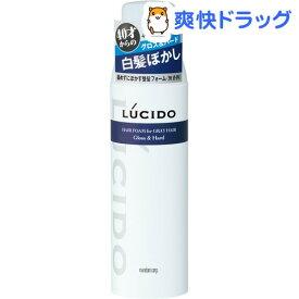 ルシード 白髪用整髪フォーム グロス&ハード(185g)【ルシード(LUCIDO)】
