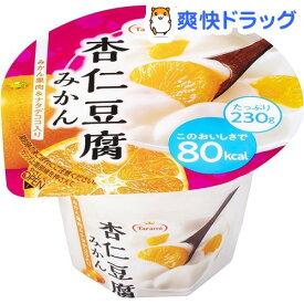 たらみ 杏仁豆腐 80kcaL みかん(230g*6個)【たらみ】