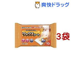 フローリングワイパー用ワックスシート(10枚入*3コセット)