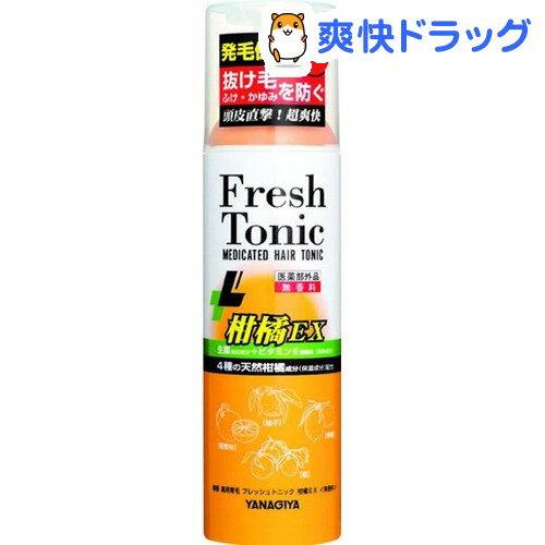 柳屋 薬用育毛フレッシュトニック柑橘EX(190g)【柳屋】