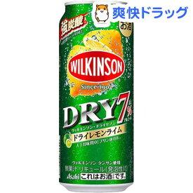 ウィルキンソン・ドライセブン ドライレモンライム 缶(500ml*24本入)