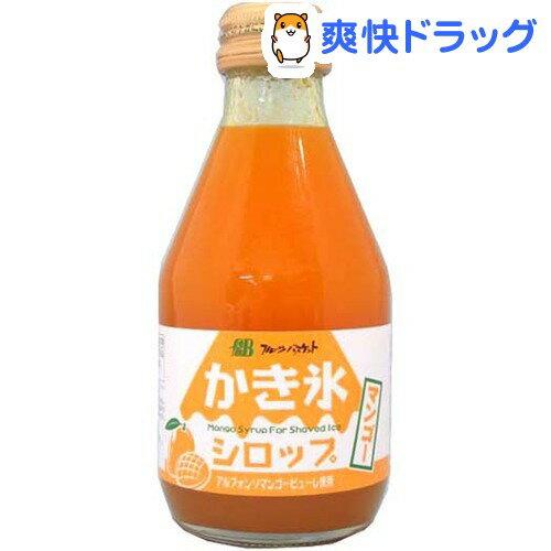 フルーツバスケット かき氷シロップ マンゴー(180mL)【フルーツバスケット】