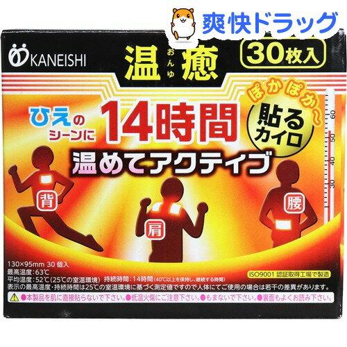 【訳あり】温癒 貼るカイロ レギュラー(30枚入)