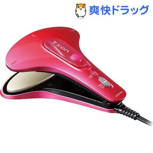 コイズミ ポータブルスチームアイロン T-Iron(ティーアイロン) ピンク KAS-3010/P(1セット)【コイズミ】