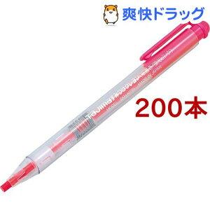 タジマ すみつけクレヨン(細書き) 蛍光ピンク SKH-KPIN(200本セット)【タジマ】