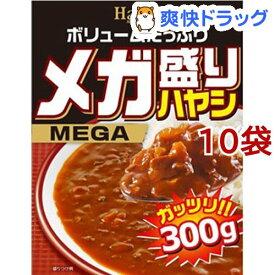 ハチ食品 メガ盛りハヤシ(300g*10コ)【Hachi(ハチ)】