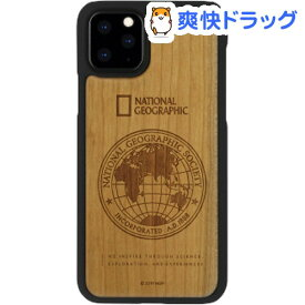 iPhone 11 Pro Global Seal Nature Wood チェリーウッド(1個)【National Geographic(ナショナル ジオグラフィック)】