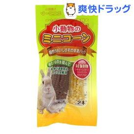 ミニアニマン 小動物のミニコーン(2本入)【ミニアニマン】
