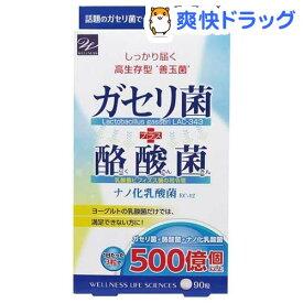 ガセリ菌+酪酸菌(90粒)【ウェルネスジャパン】
