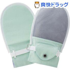 フドーてぶくろNo.5 グリーン M 105835(1組)【竹虎(タケトラ)】