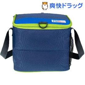 PACKiT(パックイット) 6缶クーラー 5.7L ネイビー/ブルー/グリーン PK2-CC-NVY(1コ入)[保冷バッグ]