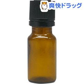 アロマアンドライフ Kシリーズ KENSO褐色ボトルガラス 10ml 黒バージンキャップ 3本(1セット)【アロマアンドライフ】