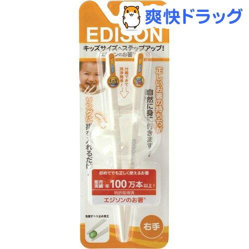 エジソンのお箸 キッズ 右手用(1コ入)【エジソン(子供用)】