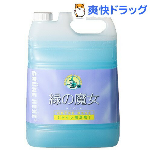 緑の魔女 トイレ用洗剤(5L)【緑の魔女】