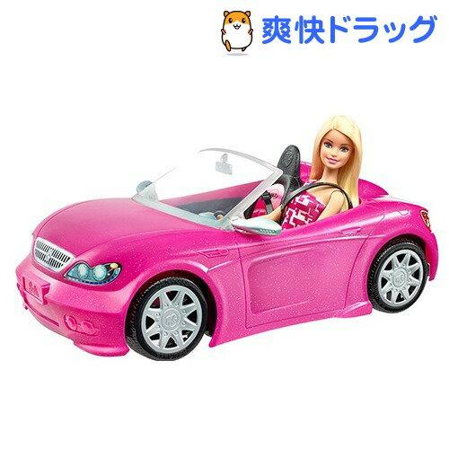バービーとかわいいピンクのクルマ DJR55(1コ入)【バービー人形】