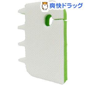 吊るせる浴室まるごとスポンジ グリーン(1個)【TOWA(東和産業)】