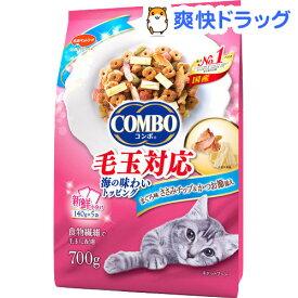 コンボ 毛玉対応 まぐろ味 ささみチップ かつお節添え(140g*5袋入)【コンボ(COMBO)】[キャットフード]