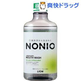 ノニオ マウスウォッシュ スプラッシュシトラスミント(600ml)【u9m】【ノニオ(NONIO)】