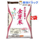 平成28年度産 タニタ食堂の金芽米(BG無洗米)(4.5kg*2コセット)[タニタ食堂 お米 白米]【送料無料】