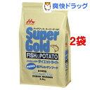 スーパーゴールド フィッシュ&ポテト ダイエットライト 体重管理用(2.4kg*2コセット)【スーパーゴールド】【送料無料】
